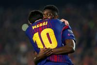 Messi and Dembele's masterclass fire Barcelona into quarters
