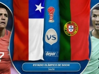 Confed. Cup Russia 2017: Portugal vs Chile