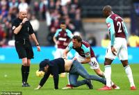 Premier League side fined for pitch invasion