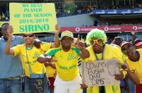 CAF CL: Sundowns Join Pirates in First Round after 5-1 Win