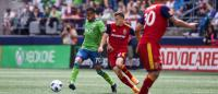 Kenyan midfielder elated after scoring for Seattle Sounders