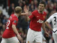 Carrick names his greatest Man United team-mate