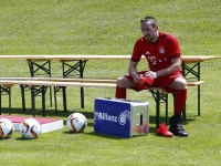 Injury blow for Bayern Munich as star suffers injury in training