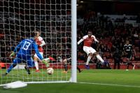 Lacazette's tidy strike sinks Qarabag at the Emirates