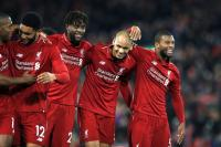 Klopp remains wordless after Liverpool's Champions League progress