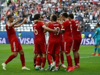 Russia players investigated over attack