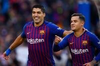 Injury update on Luis Suarez