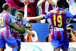 Martins named in Levante squad