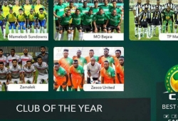 Kenyan trio and Co shortlisted for CAF club of year award