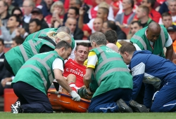 Injuries mean Arsenal are not Premier League contenders