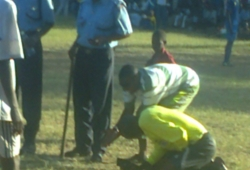 Coast derby ends in chaos
