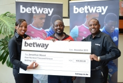Two new jackpot winners at betway