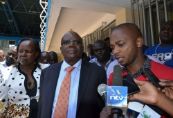 Nyamweya, Agolla in trouble as FKF takes action over withdrawn funds
