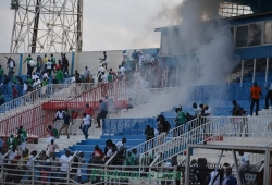 Gor-Muho clash halted due to crowd trouble