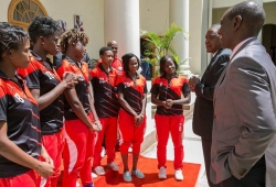 Starlets appreciate remarkable support