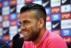 Dani Alves tags Barcelona 'disrespectful'