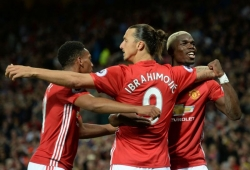 Ibra On Target, As United Proceed
