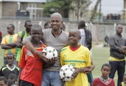 Mwendwa hails Youth league initiative, rolls out equipment dispersal