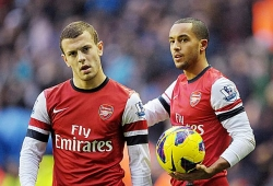 Walcott wins Goal of the Month, offered improved deal