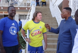 AFC Leopards coach jets in