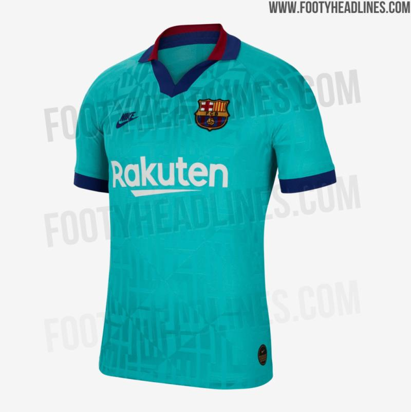 new concept 6493b 4755c Barcelona's 2019-2020 third kit released