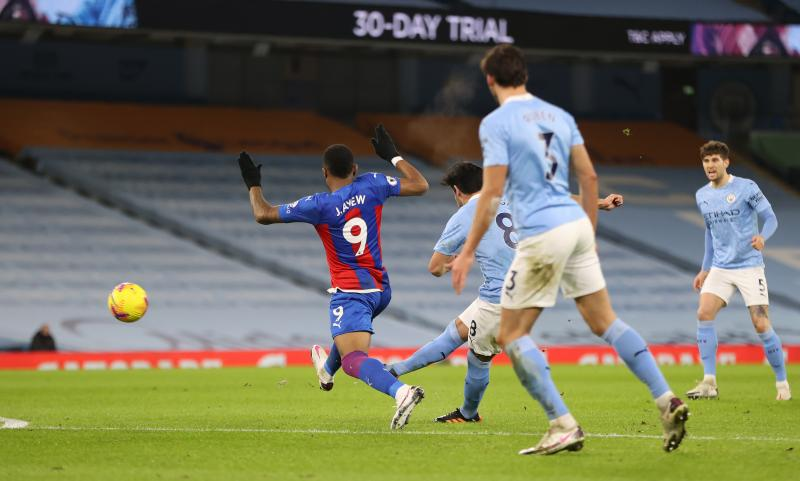 Stones' brace helps Manchester City defeat Crystal Palace: Records broken