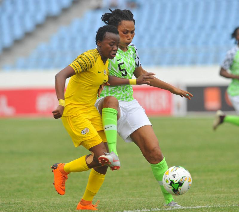 African Women Nations Cup 2018 Final – Nigeria vs South Africa