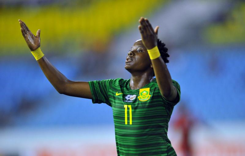 AWCON 2018: South Africa's Banyana Give Guinea 7-1 Walloping