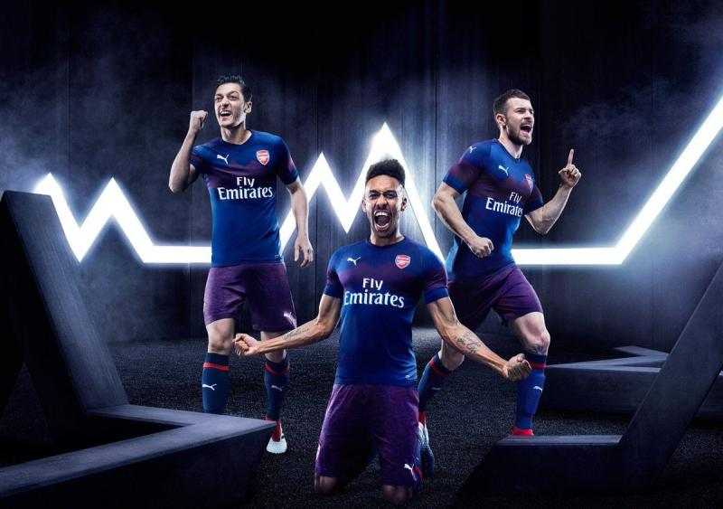 Arsenal unveil away kit for 2018 19 campaign 104ba21c4