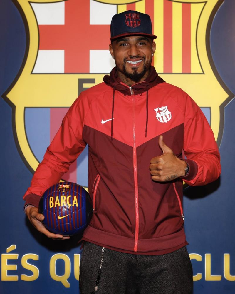 Kevin-Prince Boateng on going against his words, joining Barcelona