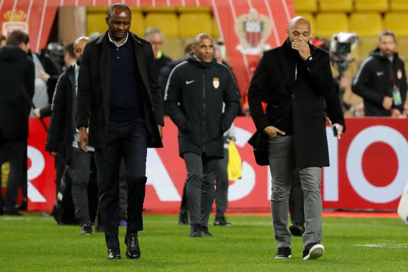 Vieira reveals what he said to Henry in Nice-Monaco stalemate