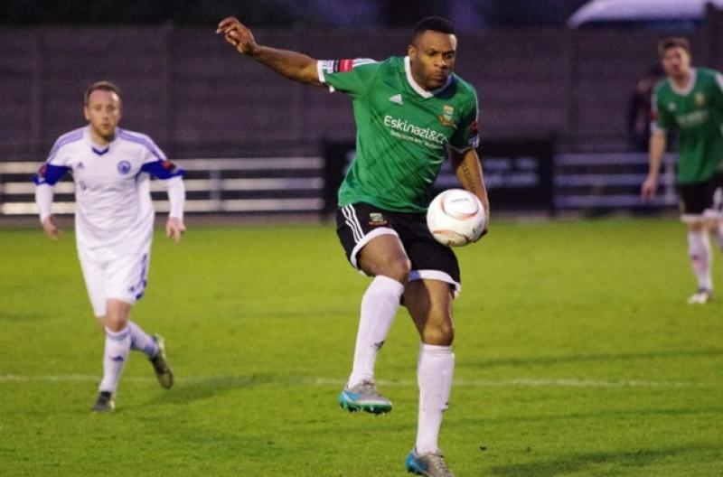 Nigerian legends pens new deal with Enfield Town
