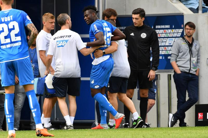 Ghana & Hoffenheim's Adams Red-Carded Against Lyon in UCL