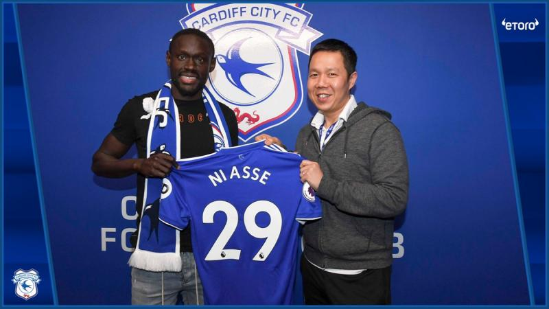 Senegalese striker joins EPL side