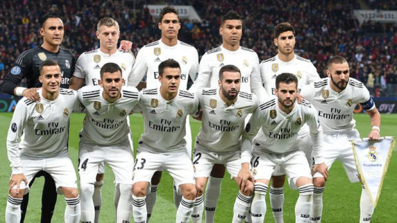 Real Madrid reveal squad for Copa de Rey clash