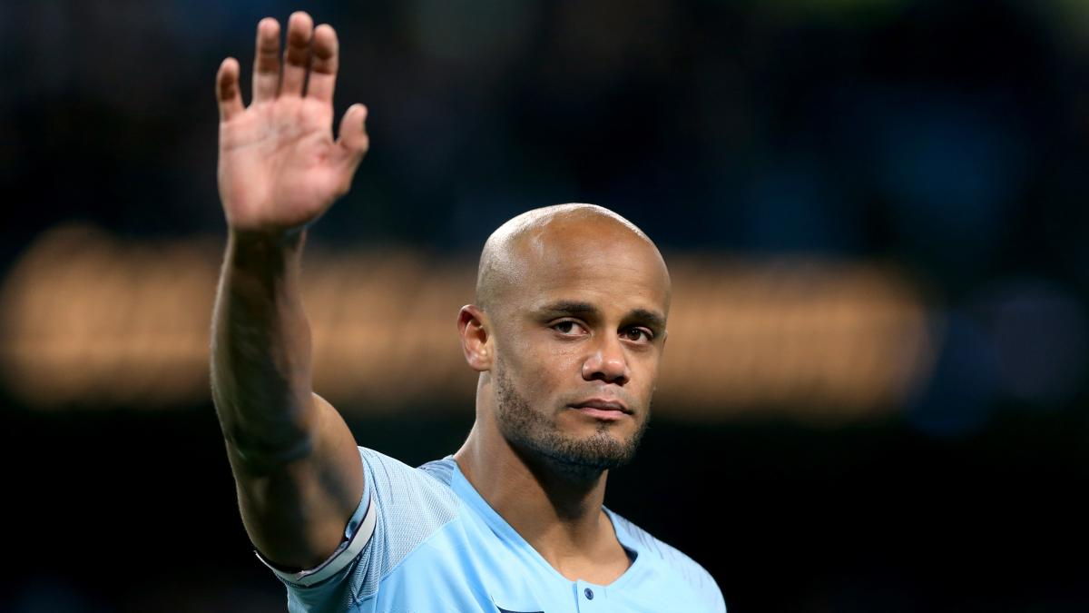 Kompany reveals when he realised his time was up at Man City