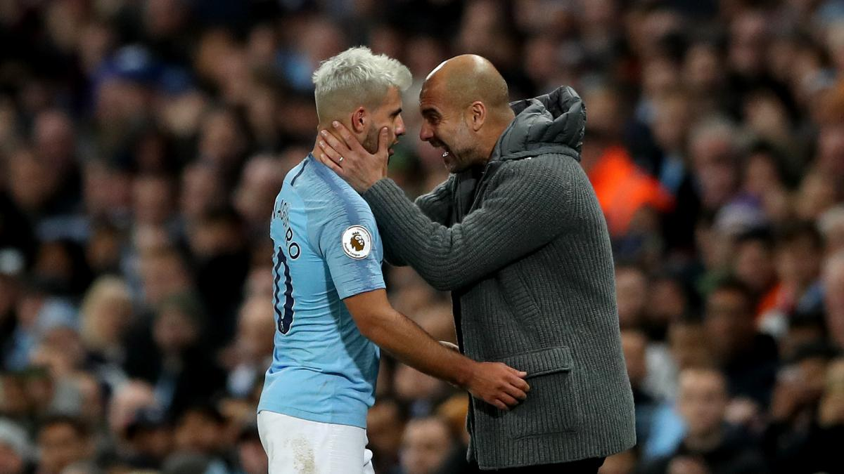 Guardiola delivers update on Aguero injury scare