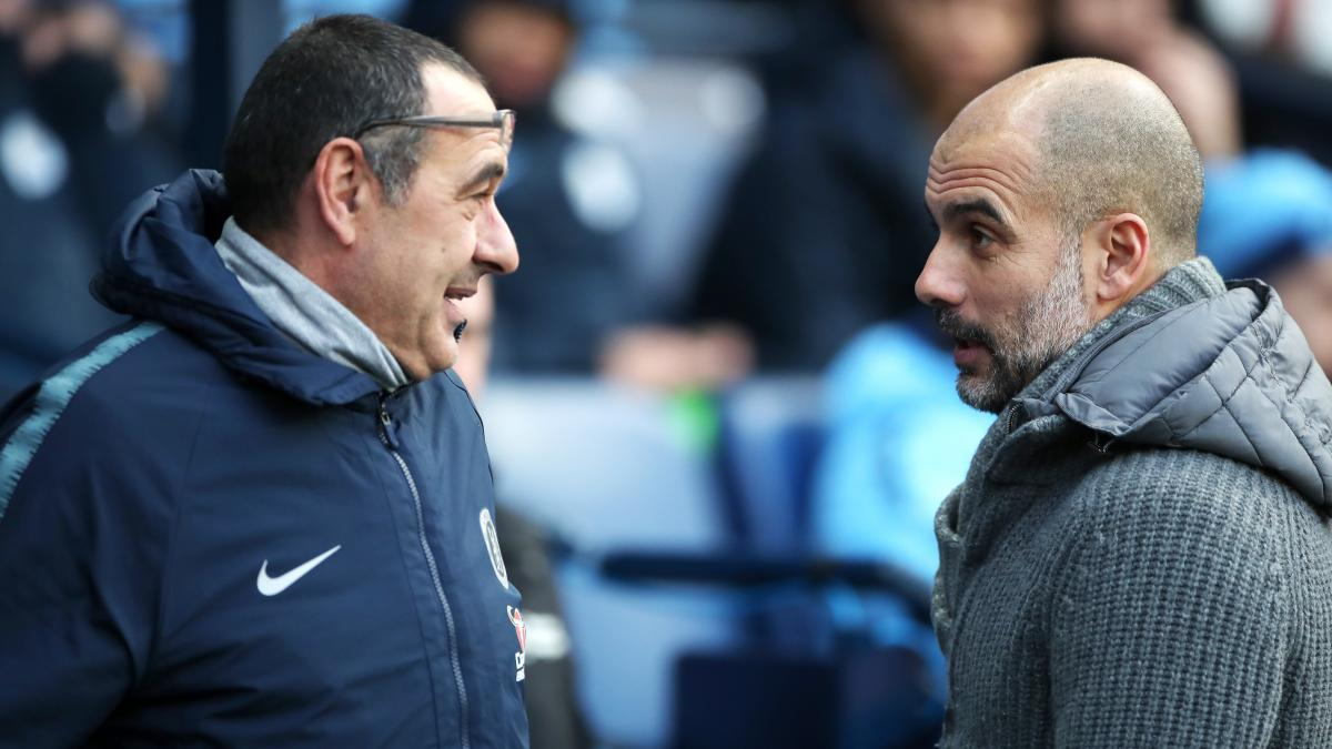 Sarri on why he did not shake Guardiola's hand after the 6-0 defeat