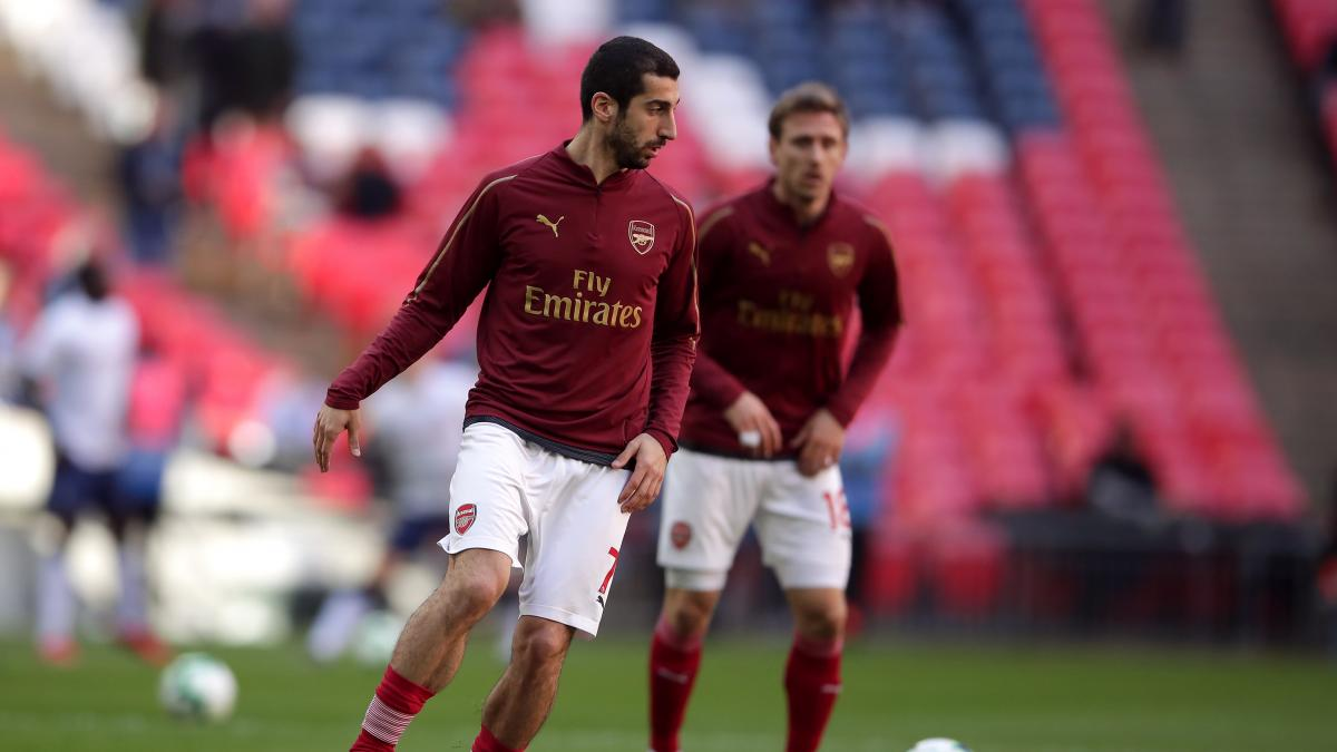 Arsenal worried over Mkhitaryan's safety ahead of Europa League final