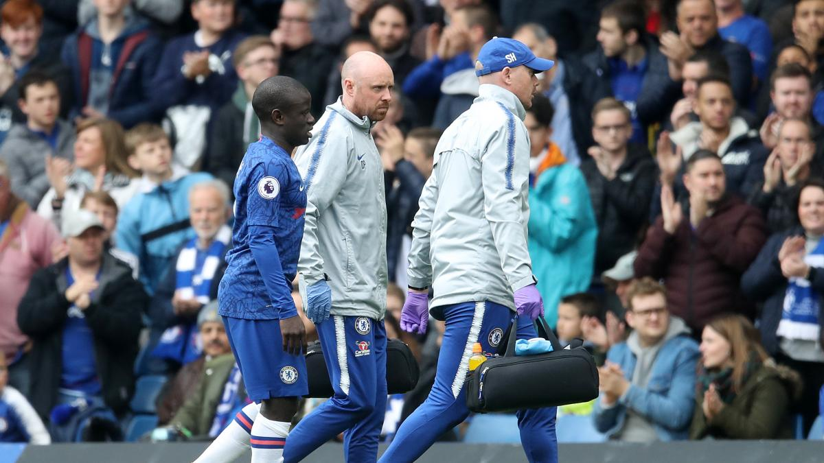 Frank Lampard provides an injury on N'Golo Kante after win over Barcelona