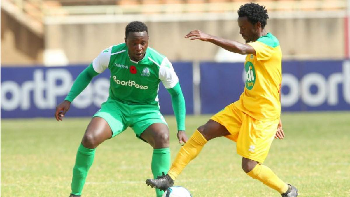 Gor Mahia midfielder suspended ahead of Green Eagles quarters clash