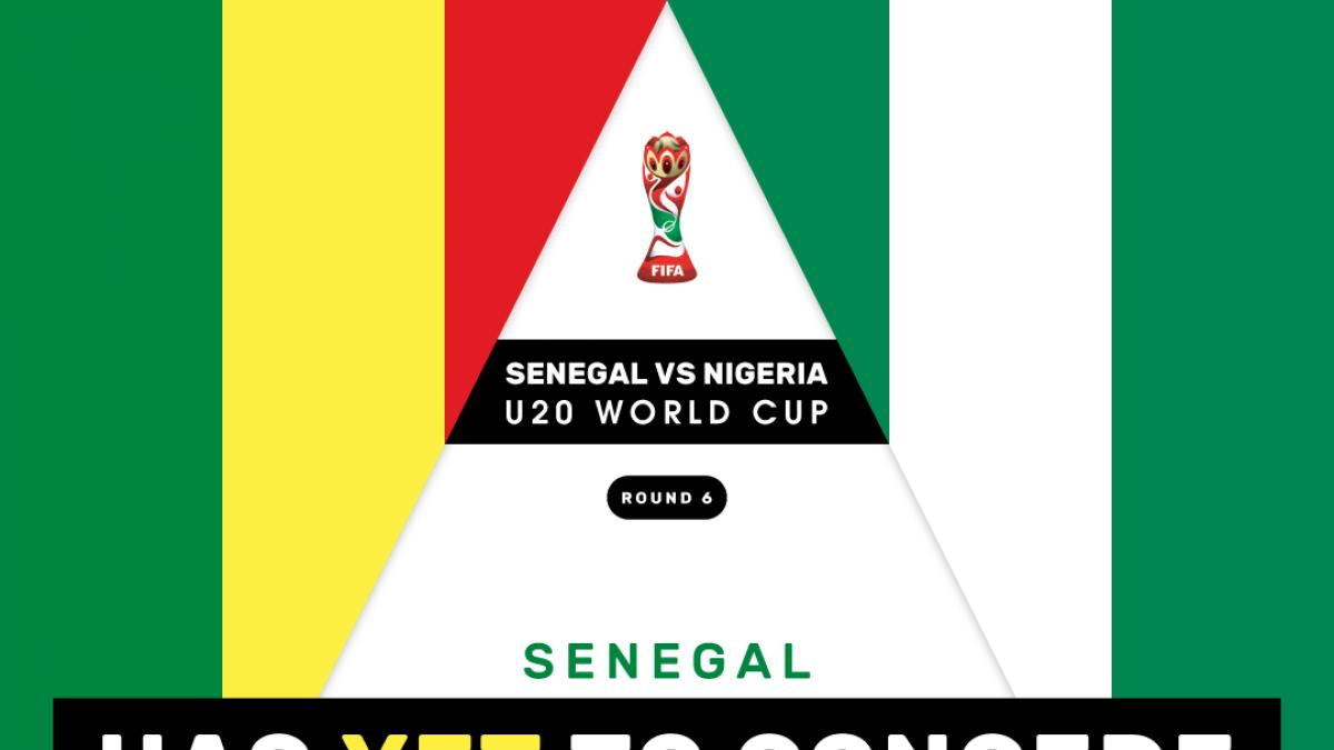Senegal vs Nigeria: Back Teranga Lions to get the job done in U20 World Cup