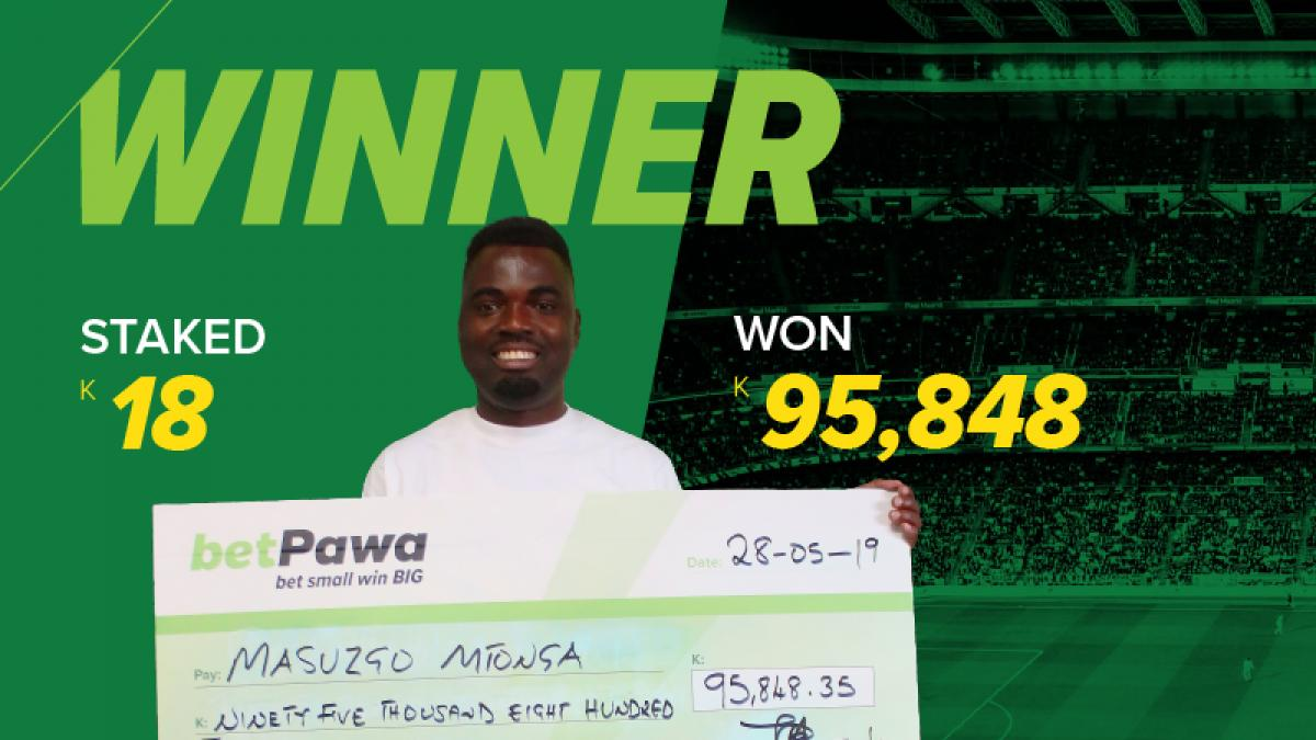 Zambian man pays off tuition fees with winnings from one K18 bet