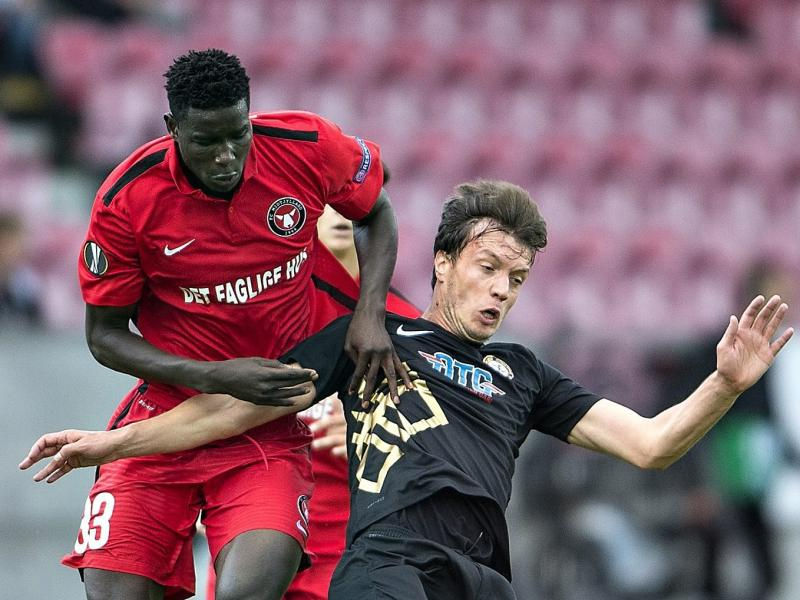 Nigerian striker targets 23rd goal of the season Vs Esbjerg FB