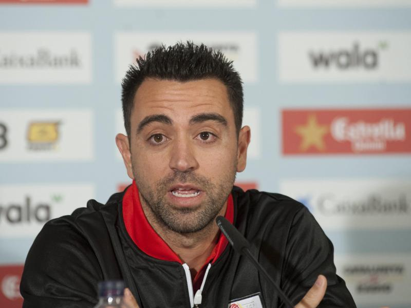 Xavi: I am ready to manage Barcelona if they need me