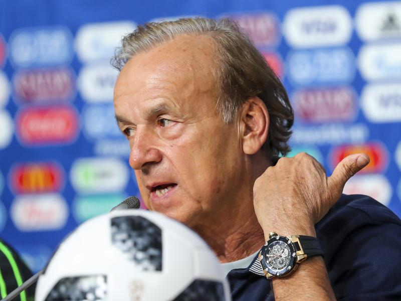 2021 AFCON qualifier: Rohr expects tough tie against Benin