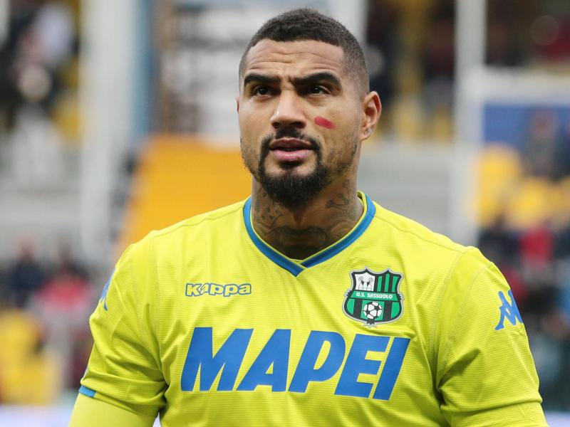 KP Boateng kicks off preseason with Sassuolo