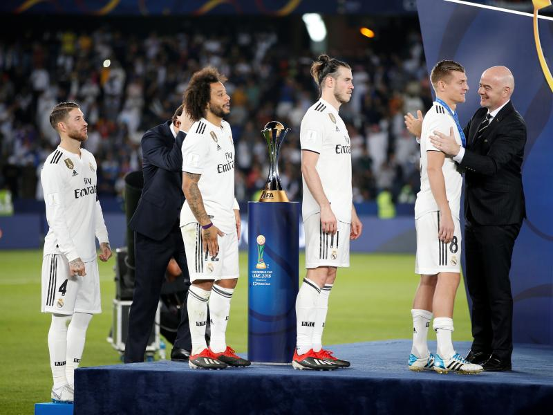 Revealed: Real Madrid squad to face Ajax