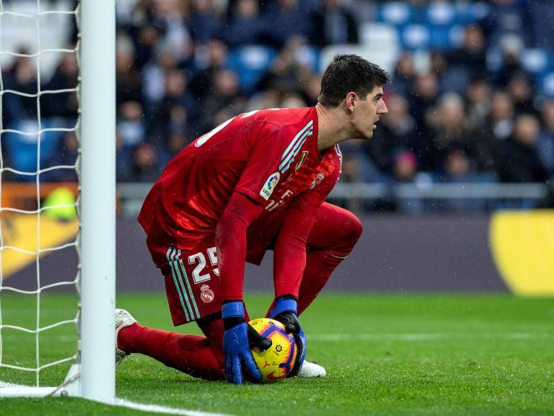 Thibaut Courtois to be Real Madrid's first choice goalkeeper next season