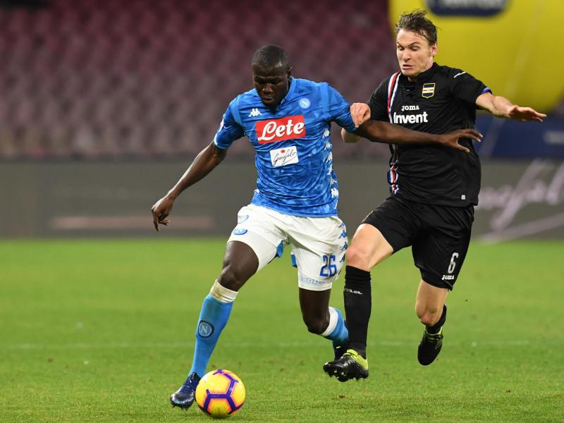 Watch: Napoli & Man United target Koulibaly makes unbelievable goal-line clearance